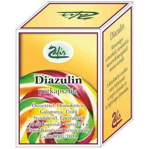 Zafir diazulin porkapszula - 60db