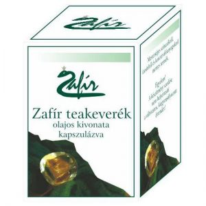 Zafir teakeverék kapszula - 60db