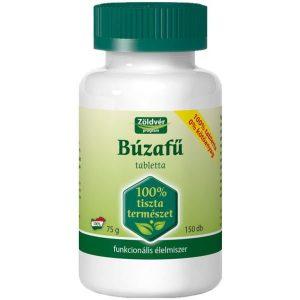 Zöldvér 100%-os búzafű tabletta - 150db