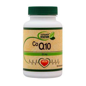 Vitamin Station Q10 Coenzyme kapszula - 90db