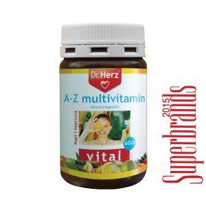 Dr. Herz A-Z multivitamin kapszula - 60db