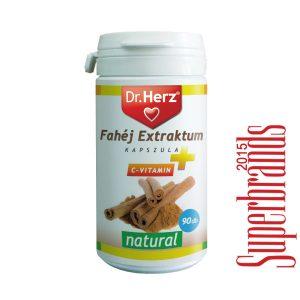 Dr. Herz fahéj + C vitamin kapszula - 90db