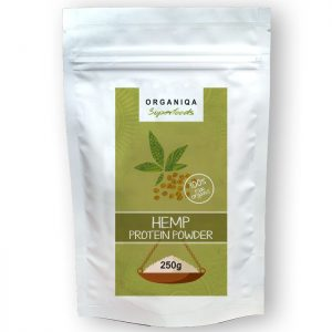 Organiqa Kendermag - Hemp protein por - 250g