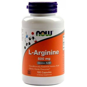 Now L-Arginine kapszula - 100db
