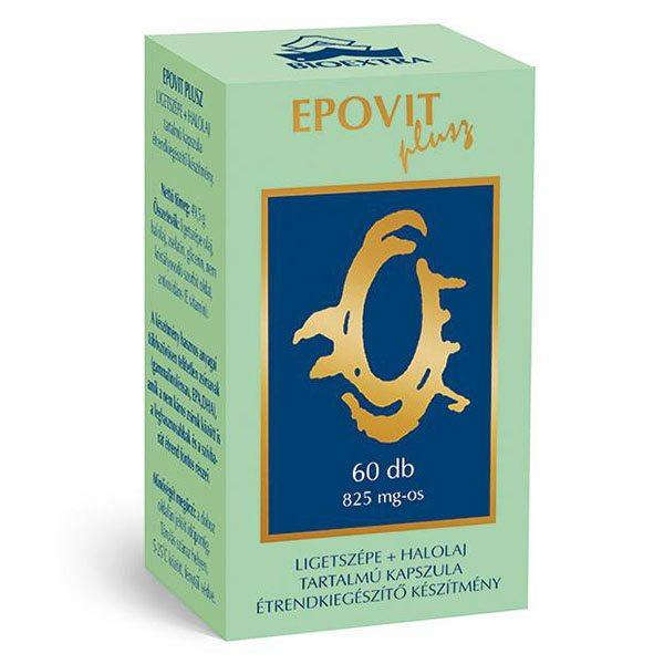 Bioextra Epovit Ligetszépe + halolaj kapszula - 60db
