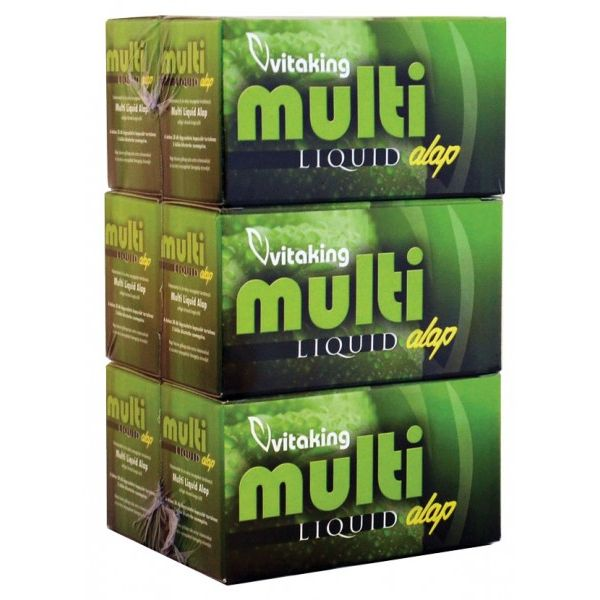 Vitaking Multi Alap Liquid multivitamin - 180db