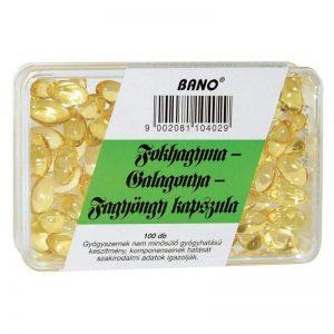 Bánó fokhagyma-galagonya-fagyöngy kapszula - 100db