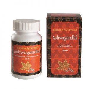Garuda ayurveda ashwagandha vegetáriánus kapszula - 60db