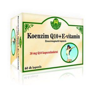 Herbária koenzim Q10 + E-vitamin kapszula - 60db