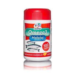 1x1 Vitaday Omega-3 halolaj lágyzselatin kapszula - 100db