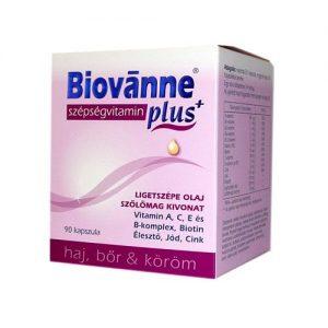 Biovánne Plus szépségvitamin kapszula - 90db