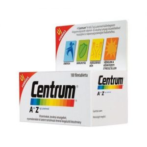Centrum A-Z multivitamin Luteinnel filmtabletta - 100db