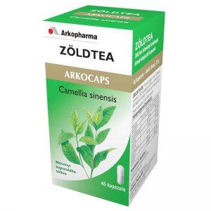 Arkocaps Zöld tea kapszula - 45db