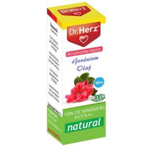 Dr. Herz geránium illóolaj - 10ml