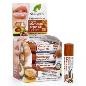 Dr. Organic bio Argán olaj ajakbalzsam - 5,7ml