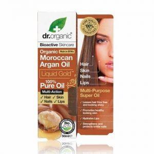 Dr. Organic bio Argán olaj haj-, bőr-, köröm- és ajakápolásra - folyékony arany - 50ml