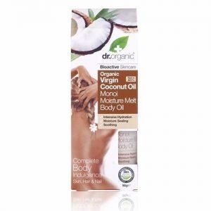 Dr. Organic bio Kókuszolaj hidratáló olaj gardénia virággal - 90g