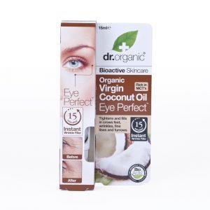 Dr. Organic bio Kókuszolaj szemkörnyék ápoló szérum - 15ml