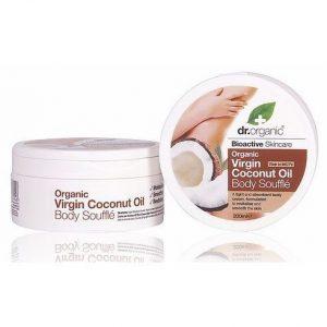 Dr. Organic bio Kókuszolaj testápoló szuflé - 200ml