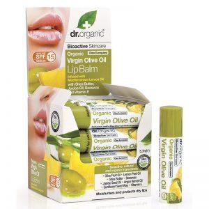 Dr. Organic bio Oliva ajakbalzsam - 5,7ml