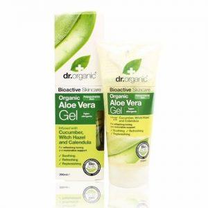 Dr. Organic bio aloe vera gél varázsmogyoróval - 200ml