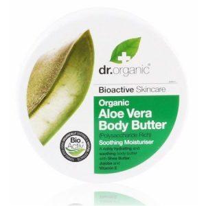 Dr. Organic bio aloe vera testápoló vaj poliszacharidokban gazdag - 200ml