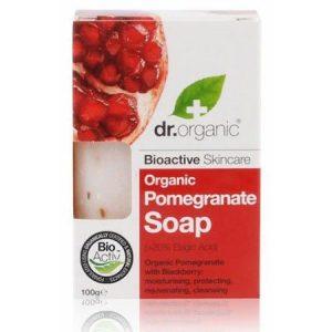 Dr. Organic bio gránátalma szappan - 100g