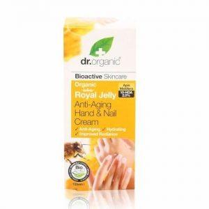 Dr. Organic bio méhpempő kéz és körömápoló - 125ml