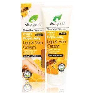 Dr. Organic bio méhpempő lábápoló krém - 200ml
