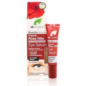 Dr. Organic bio rózsa szemkörnyék ápoló szérum - 15ml
