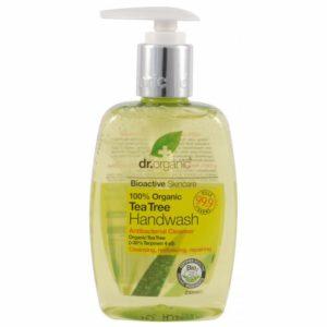 Dr. Organic bio teafa folyékony kézmosó - 250ml