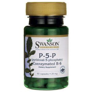 Swanson B-6 vitamin P-5-P 25mg kapszula - 60db