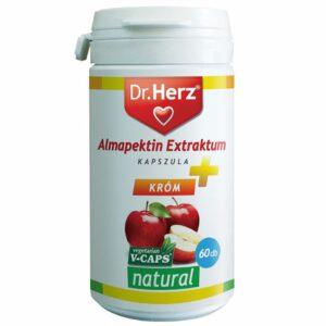 Dr. Herz almapektin kivonat 400mg + Króm kapszula - 60db