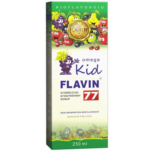 Flavin77 Omega Kid szirup - 250ml