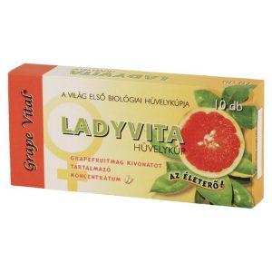 Grape Vital Ladyvita hüvelykúp - 10db