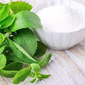 Stevia édesítő