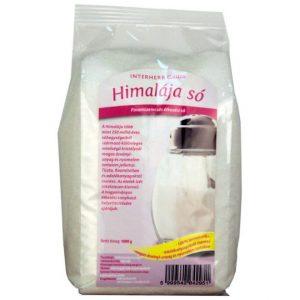Interherb Gurman Himalája fehér finom só - 1000g