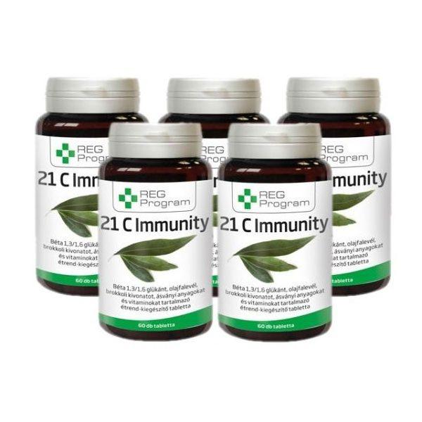 REG Program 21C Immunity tabletta - 5x60db