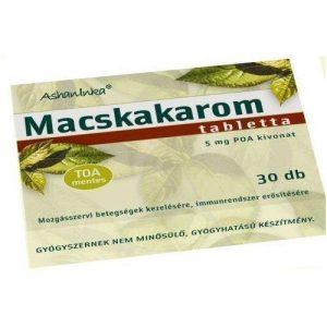 Ashaninka macskakarom tabletta - 30db