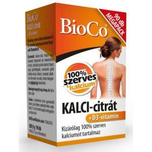 BioCo KALCI-citrát D3-vitamin megapack - 90db