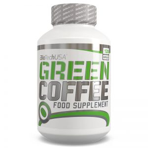 BioTech USA Green Coffee - Zöld kávé kapszula - 120db