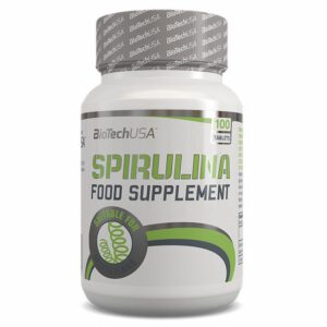BioTech USA Spirulina tabletta - 100db