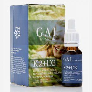 Gal K2 + D3-vitamin cseppek - 20ml
