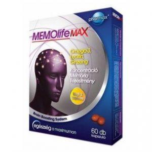 Memolife Max kapszula - 60db