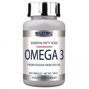 Scitec Essentials Omega 3 kapszula - 100db