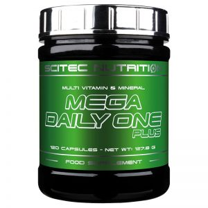 Scitec Nutrition Mega Daily One Plus multivitamin tabletta - 120db