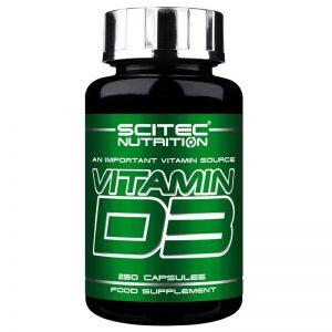 Scitec Nutrition Vitamin D3 kapszula - 250db