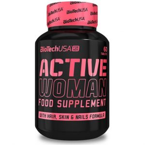 BioTech USA Active Woman multivitamin tabletta - 60db