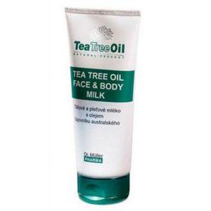 Dr. Müller Tea Tree Oil teafa arc- és testápoló tej - 200ml