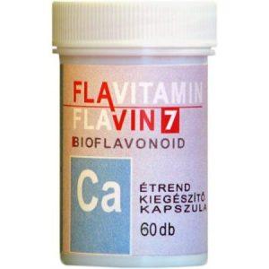 Flavin7 Flavitamin Calcium kapszula - 60db